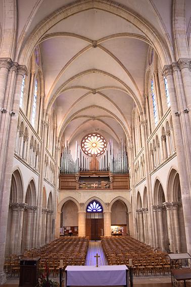 Intérieur, Sanctuaire du bienheureux Basile Moreau