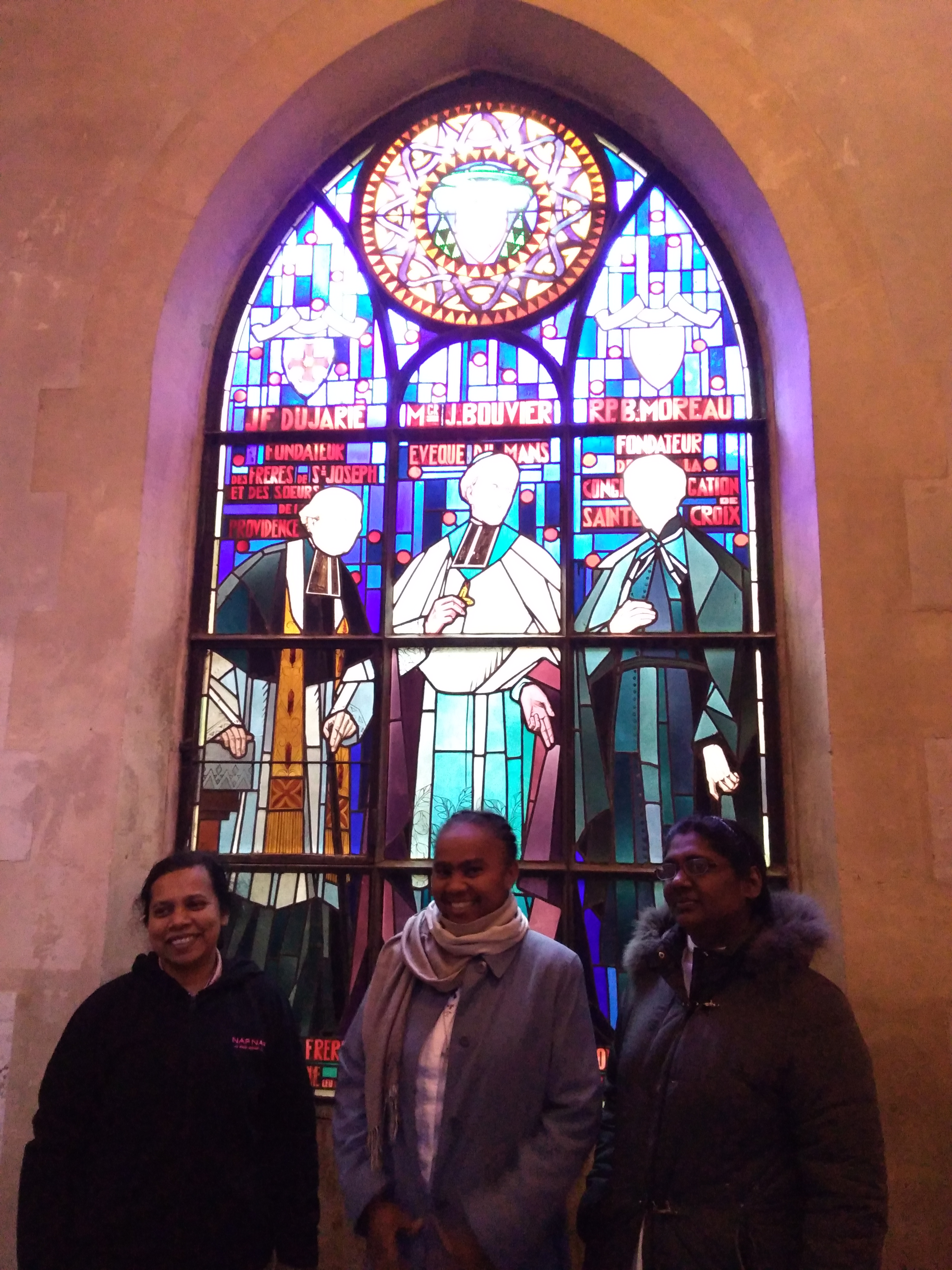 Visit of the Sisters of Providence - Sanctuaire Basile Moreau
